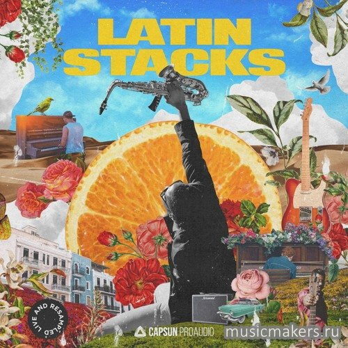 Capsun ProAudio - Latin Stacks Live & Resampled (WAV)
