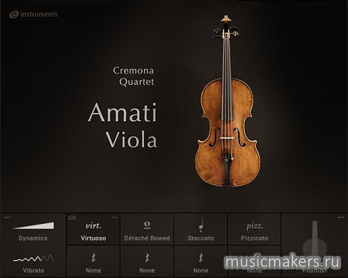 Native Instruments - Amati Viola v1.0.0 (KONTAKT)
