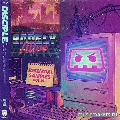 Disciple Samples - Barely Alive - Essential Samples Vol. 1 (WAV)