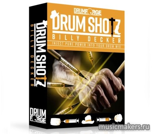 Drumforge - DrumShotz Billy Decker (WAV)