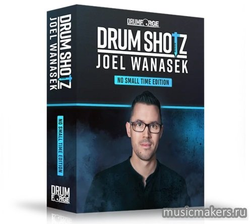 Drumforge - DrumShotz Joel Wanasek No Small Time Edition (WAV)