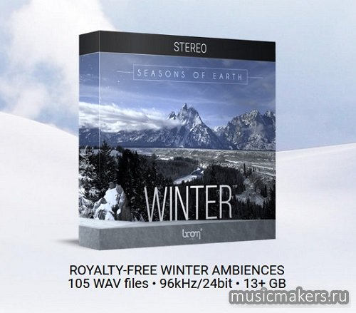 Boom Library - Seasons Of Earth Winter STEREO & 3D SURROUND (WAV)