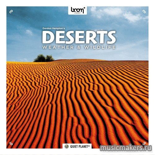 Boom Library - Deserts Weather & Wildlife STEREO & SURROUND (WAV)