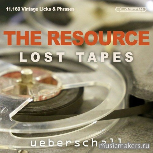 Ueberschall - The Resource - Lost Tapes (ELASTIK)