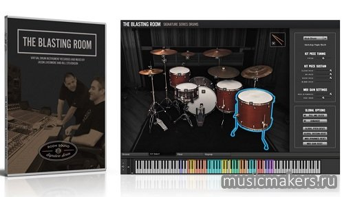 Room Sound - Blasting Room Signature Series Drums v1.1 (KONTAKT)